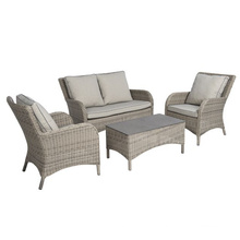 Garden Wicker Lounge Outdoor Rattan Patio Chair Sofa Set
